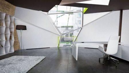 Дизайн интерьера в стиле Деконструктивизм